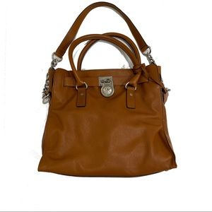 Michael Kors Bags - Michael Kors Brown Leather Shoulder Bag